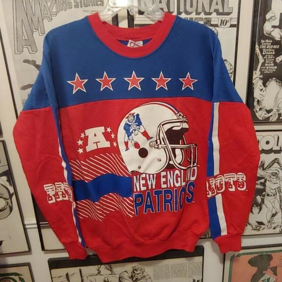 NFL Other - Vintage New England Patriots Football Sweatshirt